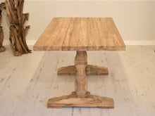 Load image into Gallery viewer, Reclaimed Teak Dining Table Rectangular - 120cm