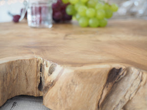 Reclaimed Natural Wood Chopping Board - Small