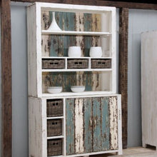 Load image into Gallery viewer, Vintage Recycled Pine Dresser With Soft Colours