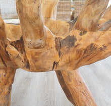 Load image into Gallery viewer, Teak Root Oval Dining Table 140x100cm