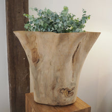 Load image into Gallery viewer, Reclaimed Wood 'Star' Vase