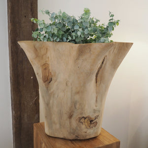 Reclaimed Wood 'Star' Vase