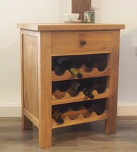 Load image into Gallery viewer, Reclaimed Teak Wine Rack