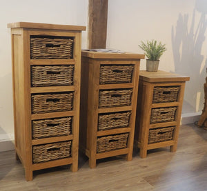 Tall Storage Chest - 5 Drawer