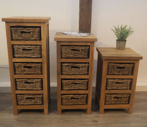 Tall Storage Chest - 4 Drawer