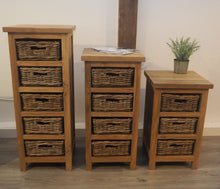 Load image into Gallery viewer, Reclaimed Storage Chest - 3 Drawer