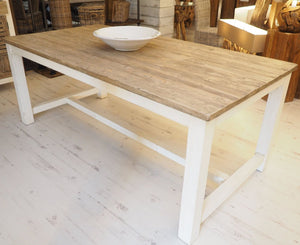 Reclaimed Pine Cottage Dining Table - 240cm