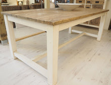 Load image into Gallery viewer, Reclaimed Pine Cottage Style Dining Table - 240cm