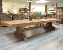 Load image into Gallery viewer, Reclaimed Rustic Display Table 250cm