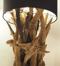 Load image into Gallery viewer, Wooden Root Table Lamp - Ace