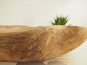 Reclaimed Wood Candle Bowl - Medium