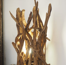 Load image into Gallery viewer, Rustic Wooden Spotlight Lamp - Ace