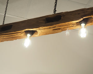 Reclaimed Wooden Hanging Chandelier