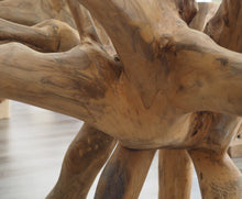 Load image into Gallery viewer, Reclaimed Teak Root Round Dining Table 180cm
