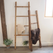 Load image into Gallery viewer, Reclaimed Wood Hanging Ladder - 140cm