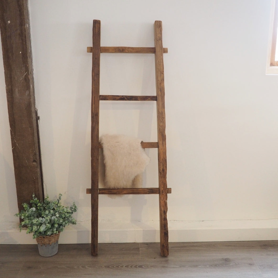 Reclaimed Wood Hanging Ladder - 140cm