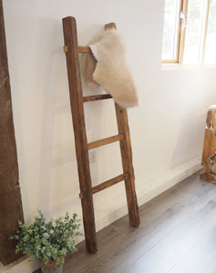 Reclaimed Wood Hanging Ladder - 170cm
