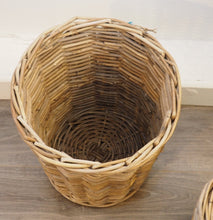 Load image into Gallery viewer, Round Wicker Storage Bin 'Campos' - Large