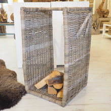 Load image into Gallery viewer, Wicker Log Basket - Large