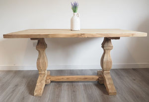 Reclaimed Teak Dining Table Rectangular - 150cm