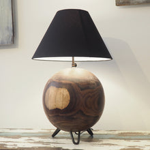 Load image into Gallery viewer, Teak Root Cole Table Lamp