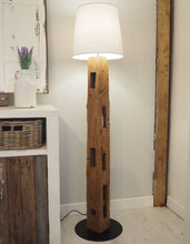 Load image into Gallery viewer, Rustic Wood Floor Lamp - Daytona