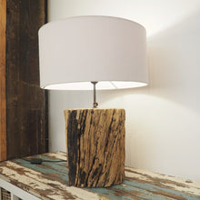 Load image into Gallery viewer, Rustic Wooden 'Tree Trunk'  Table Lamp - Kenyon
