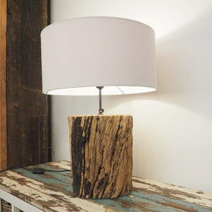 Rustic Wooden 'Tree Trunk' Table Lamp Kenyon