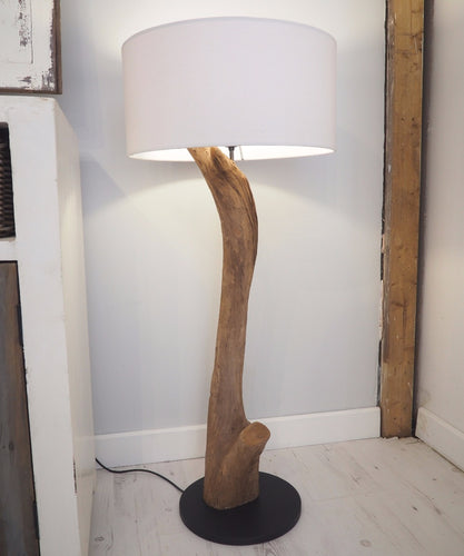 Wood Floor Lamp - Lucy