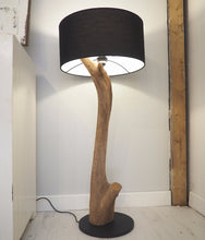 Load image into Gallery viewer, Wood Floor Lamp - Lucy