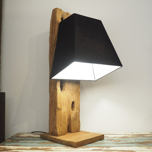 Reclaimed Table Lamp - Praba