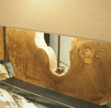 Load image into Gallery viewer, Reclaimed Teak Table Lamp - Naga Single