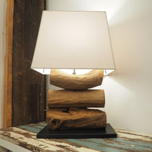 Load image into Gallery viewer, Wooden Desk Lamp Teak Root -Tiga