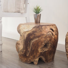 Load image into Gallery viewer, Teak Root Stool - Round