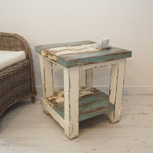 Load image into Gallery viewer, Reclaimed Pine Side Table