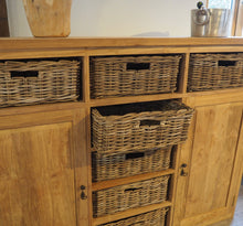 Load image into Gallery viewer, Reclaimed Wood Chest Of Drawers - Large
