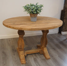 Load image into Gallery viewer, Reclaimed Wood Dining Table - Oval - 120cm