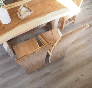 Natural Wood 'Block' Dining Chair