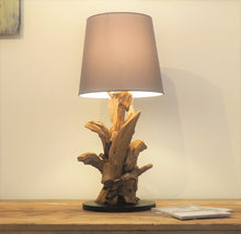 Load image into Gallery viewer, Reclaimed Teak Root Table Lamp - Ikal