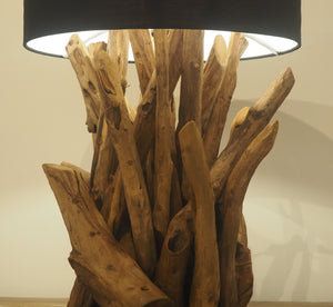 Wooden Root Table Lamp - Ace