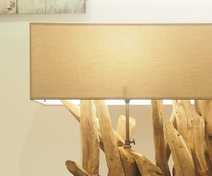 Ace Wooden Table Lamp Large