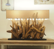 Load image into Gallery viewer, Ace Wooden Table Lamp Large