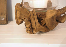 Load image into Gallery viewer, Teak Root Candle Holder - Vonte