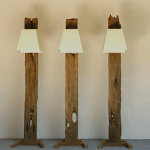 Load image into Gallery viewer, Reclaimed Wood Floor Lamp - Praba (Medium)