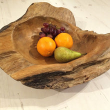Load image into Gallery viewer, Sustainable Teak Root Bowl - 40cm