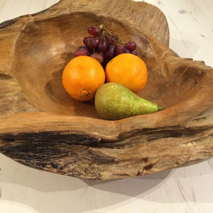 Sustainable Teak Root Bowl 50cm