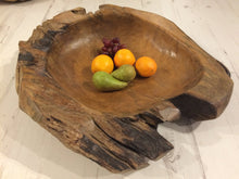 Load image into Gallery viewer, Sustainable Teak Root Bowl 60cm
