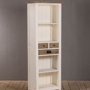 Cottage Bookcase Storage Cabinet