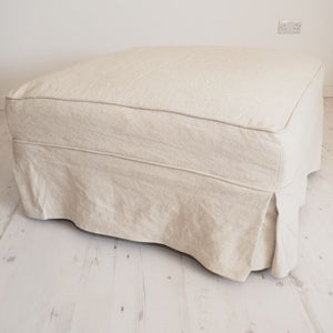 Fabric Ottoman - The Charlestown