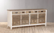 Load image into Gallery viewer, Cottage Wooden Sideboard Large